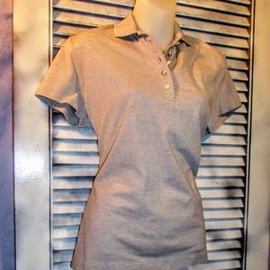 Brooks Brothers Large tan polo blouse